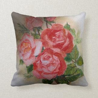 Imagen de la flor para la almohada de tiro del