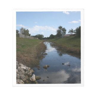 Imagen de la Florida de la casa del agua de la cer Bloc De Papel
