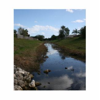 Imagen de la Florida de la casa del agua de la cer Esculturas Fotográficas