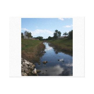 Imagen de la Florida de la casa del agua de la cer Lona Envuelta Para Galerias