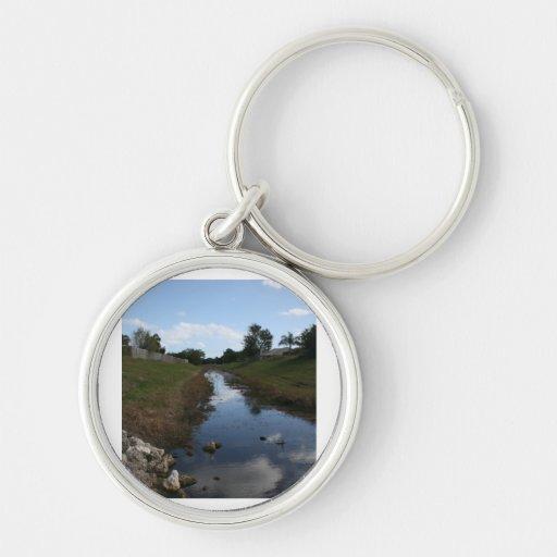 Imagen de la Florida de la casa del agua de la cer Llaveros