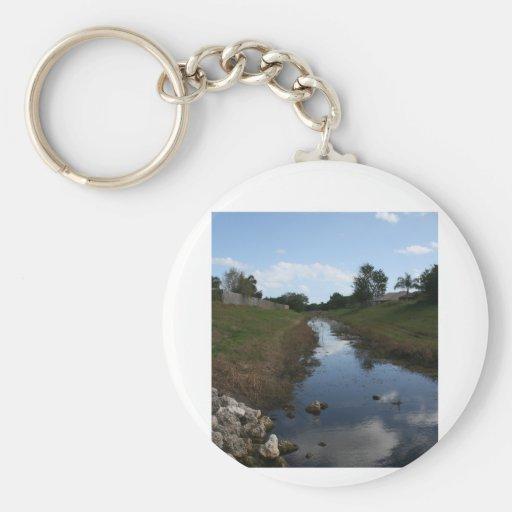 Imagen de la Florida de la casa del agua de la cer Llaveros Personalizados
