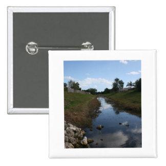 Imagen de la Florida de la casa del agua de la cer Pin Cuadrada 5 Cm