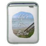 Imagen de la Florida del océano de la playa del bo Fundas Para iPads