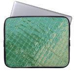 Imagen de la foto de la cubierta plástica verde fundas computadoras