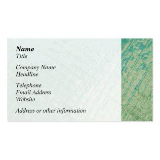 Imagen de la foto de la cubierta plástica verde plantilla de tarjeta personal