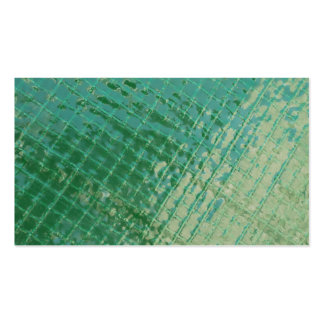 Imagen de la foto de la cubierta plástica verde plantillas de tarjetas de visita