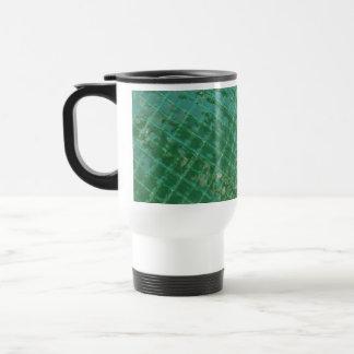 Imagen de la foto de la cubierta plástica verde taza de café