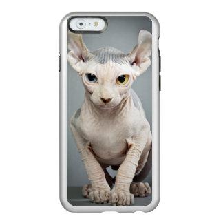 Imagen de la fotografía del gato de la esfinge del funda para iPhone 6 plus incipio feather shine