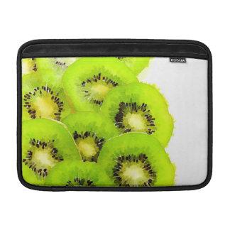 Imagen de la fruta de la acuarela del kiwi el | funda para macbook air