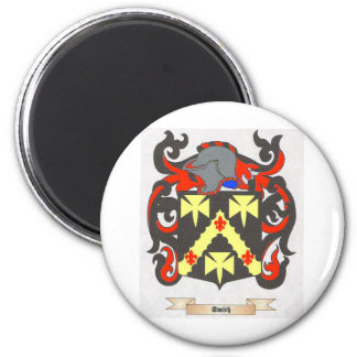 Imagen de la heráldica del escudo de la familia de imán redondo 5 cm