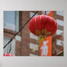 Imagen de la lámpara de Chinatown Impresiones