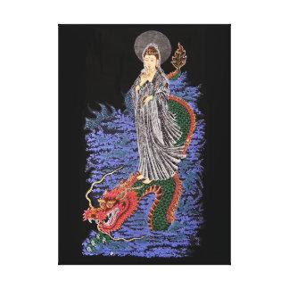Imagen de la lona del yin de Kuan Impresion De Lienzo