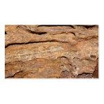 Imagen de la madera fosilizada plantilla de tarjeta de negocio