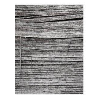 Imagen de la madera que astilla vieja postal