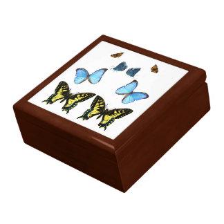 Imagen de la mariposa para el Regalo-Caja-De Joyero Cuadrado Grande