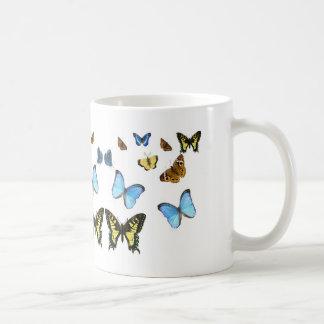 Imagen de la mariposa para la Clásico-Blanco-Taza Taza
