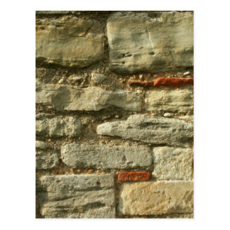 Imagen de la pared de piedra postales