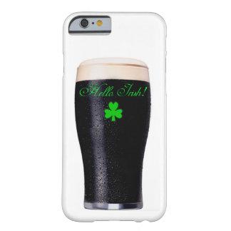 Imagen de la pinta de Guinness para el iPhone 6 Funda De iPhone 6 Barely There