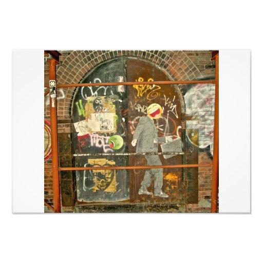 Imagen de la pintada de Brooklyn por Plutohead Fotografías