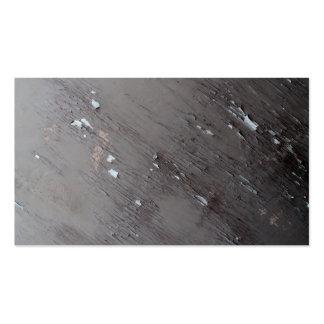 Imagen de la pintura vieja de la peladura plantillas de tarjetas de visita