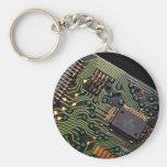 Imagen de la placa de circuito de la calculadora d llavero personalizado
