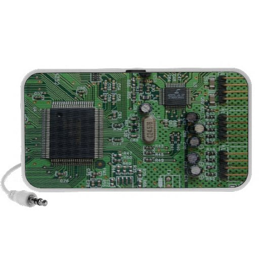 Imagen de la placa de circuito mini altavoz