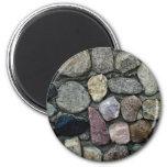 Imagen de la roca abigarrada imán