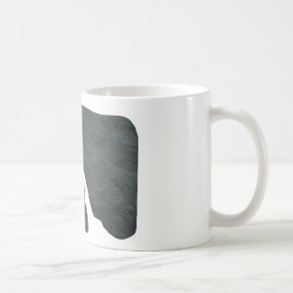 Imagen de la roca del misterio taza de café
