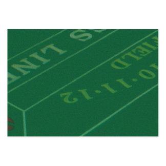 Imagen de la tabla de las mierdas de los jugadores tarjetas de visita grandes