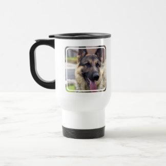 Imagen de la taza del viaje del pastor alemán