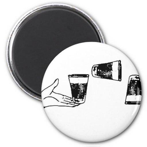 Imagen de la taza imán redondo 5 cm