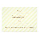 Imagen de la tetera de Brown en rayas beige Invitaciones Personalizada