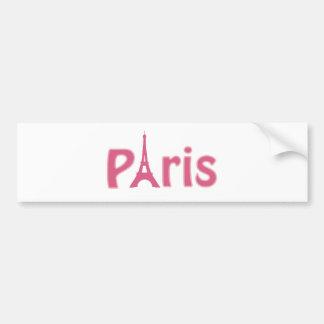 Imagen de la torre Eiffel Pegatina Para Auto
