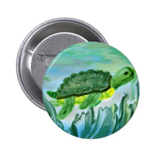 Imagen de la tortuga de mar pin