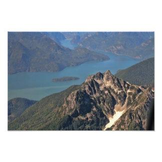 Imagen de las montañas rocosas arte fotografico