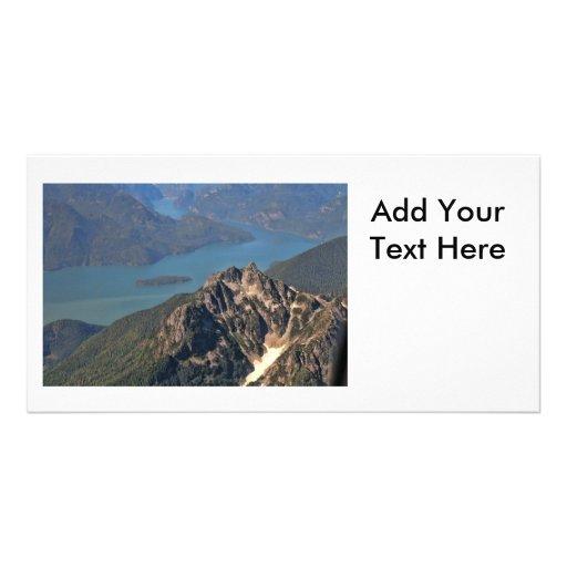 Imagen de las montañas rocosas tarjetas fotográficas