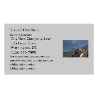 Imagen de las montañas rocosas tarjetas de visita