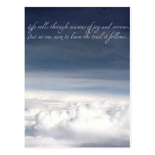 Imagen de las nubes postales