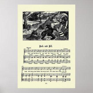 Imagen de las poesías infantiles del vintage - Jac Posters