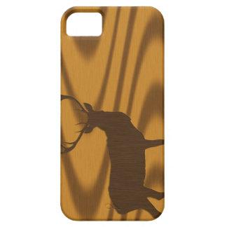 Imagen de los ciervos del dólar en el caso del iPhone 5 carcasa