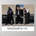 Imagen de los días de la nave espacial posters