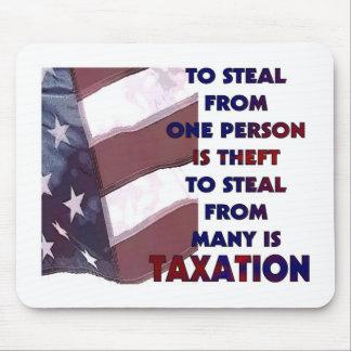 Imagen de los impuestos tapete de raton