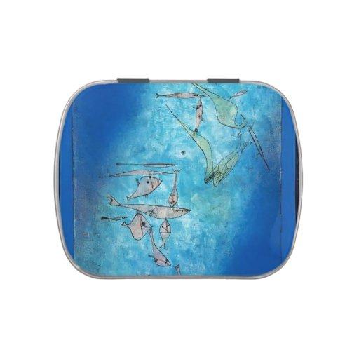 Imagen de los pescados de Paul Klee- Frascos De Caramelos