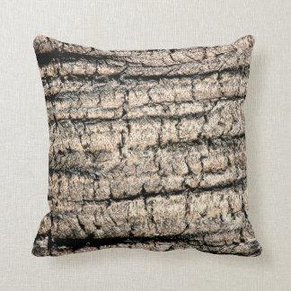 imagen de madera aseada de la textura del árbol de cojín decorativo