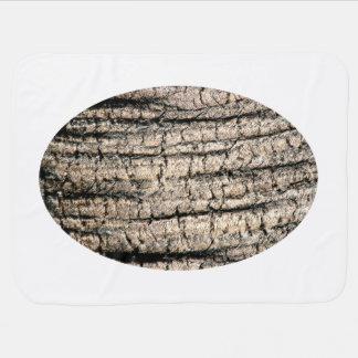 imagen de madera aseada de la textura del árbol de manta de bebé