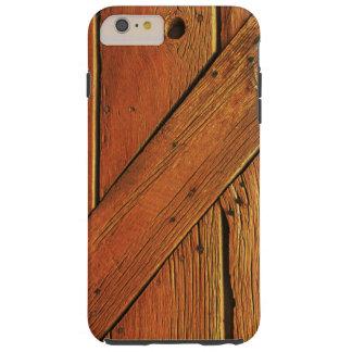 Imagen de madera - iPhone6 más el caso Funda De iPhone 6 Plus Tough