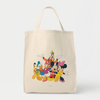 Imagen de Mickey y de los amigos el | perfecta Bolsa Tela Para La Compra