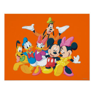 Imagen de Mickey y de los amigos el   perfecta Póster