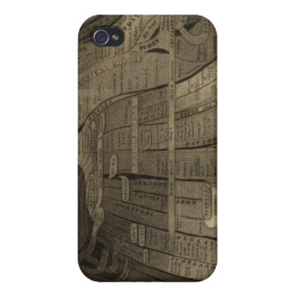 Imagen de naciones iPhone 4 carcasas